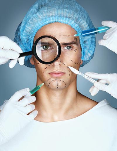 Cosmetic procedures for men