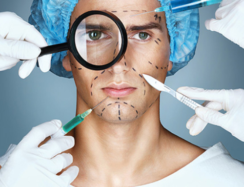 Cosmetic procedures for men : aging signs and weight loss consequences