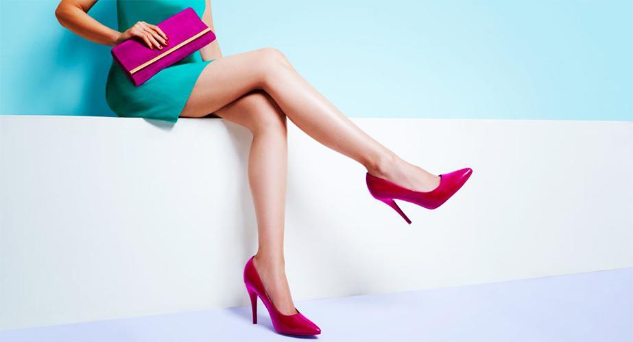 Treating aesthetic legs