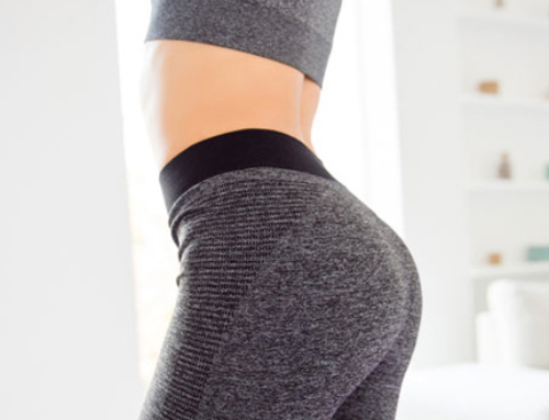 Why are flat buttocks flat ?