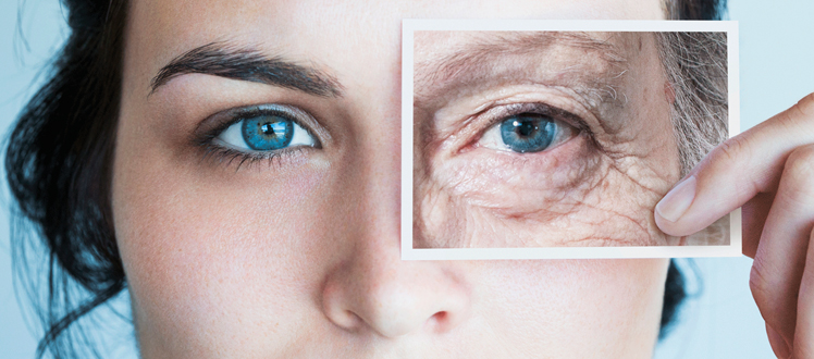 preventive skin care against wrinkles
