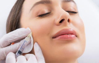 treat aging signs in the cheeks